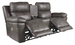 Erlangen Power Reclining Loveseat with Console 3000418