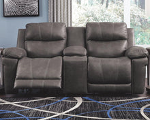 Load image into Gallery viewer, Erlangen Power Reclining Loveseat with Console 3000418 By Ashley Furniture from sofafair