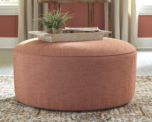 Almanza Oversized Accent Ottoman 3080308 By Ashley Furniture from sofafair