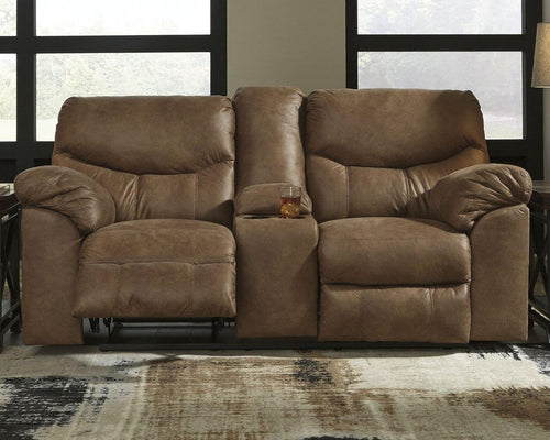 Boxberg Reclining Loveseat with Console 3380294 By Ashley Furniture from sofafair