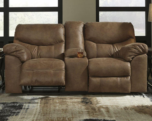 Boxberg Power Reclining Loveseat with Console 3380296 By Ashley Furniture from sofafair