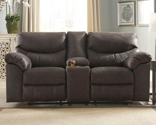 Boxberg Power Reclining Loveseat with Console 3380396 By Ashley Furniture from sofafair