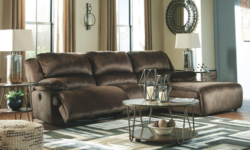 Clonmel 3Piece Power Reclining Sectional with Chaise 36504S11 By Ashley Furniture from sofafair