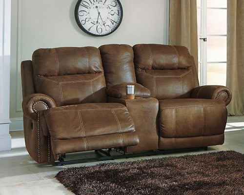 Austere Power Reclining Loveseat with Console 3840096 By Ashley Furniture from sofafair