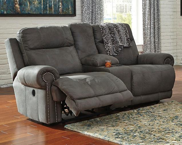 Austere Power Reclining Loveseat with Console 3840196 By Ashley Furniture from sofafair