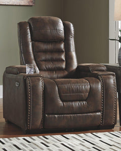 Game Zone Power Recliner 3850113 By Ashley Furniture from sofafair