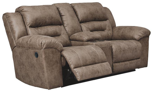 Stoneland Reclining Loveseat with Console 3990594 By Ashley Furniture from sofafair