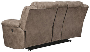 Stoneland Power Reclining Loveseat with Console 3990596