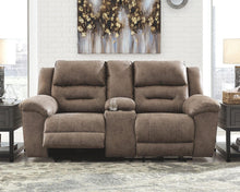 Load image into Gallery viewer, Stoneland Power Reclining Loveseat with Console 3990596 By Ashley Furniture from sofafair