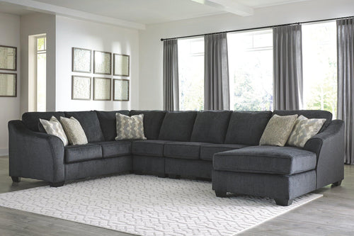 Eltmann 4Piece Sectional with Chaise 41303S8 By Ashley Furniture from sofafair