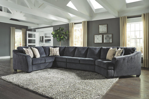 Eltmann 4Piece Sectional with Cuddler 41303S2 By Ashley Furniture from sofafair