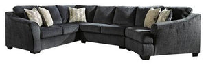 Eltmann 3Piece Sectional with Cuddler 41303S1