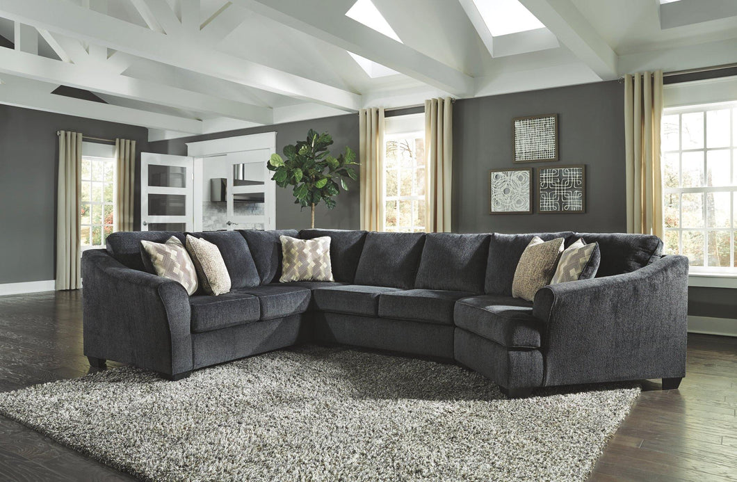 Eltmann 3Piece Sectional with Cuddler 41303S1 By Ashley Furniture from sofafair