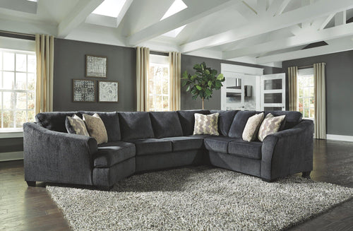 Eltmann 3Piece Sectional with Cuddler 41303S3 By Ashley Furniture from sofafair