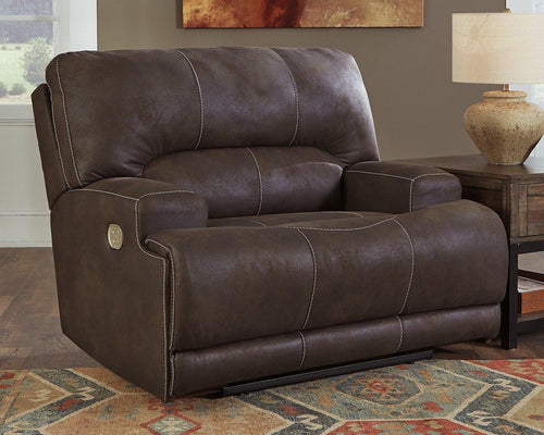 Kitching Oversized Power Recliner 4160482 By Ashley Furniture from sofafair