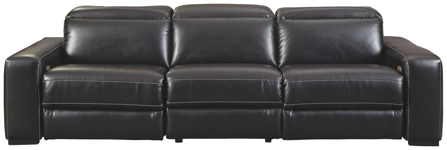 Mantonya 3Piece Power Reclining Sectional 46303S3 Motion Sectionals By ashley - sofafair.com