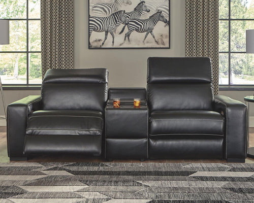 Mantonya 3Piece Power Reclining Sectional 46303S2 By Ashley Furniture from sofafair