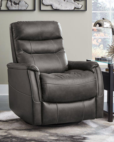Riptyme Swivel Glider Recliner 4640261 By Ashley Furniture from sofafair