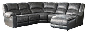Nantahala 5Piece Reclining Sectional with Chaise 50302S3