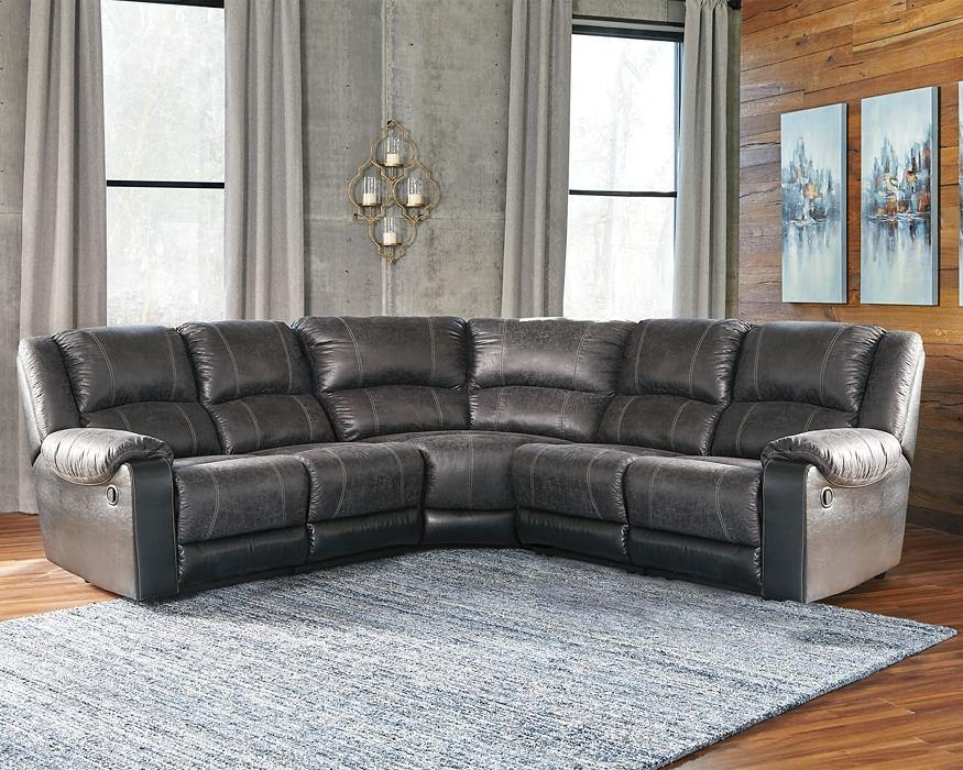 Nantahala 5Piece Reclining Sectional 50301S5 By Ashley Furniture from sofafair