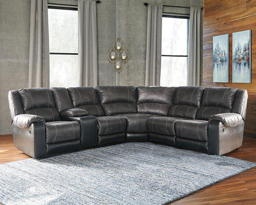 Nantahala 6Piece Reclining Sectional 50301S6 By Ashley Furniture from sofafair