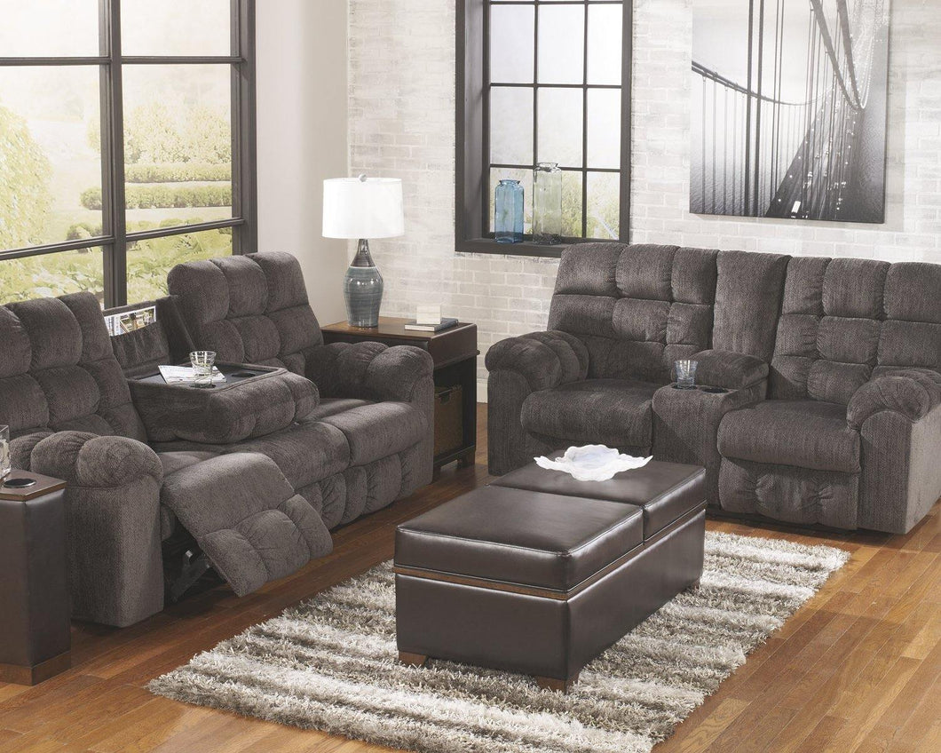 Acieona Reclining Sofa with Drop Down Table 5830089 By Ashley Furniture from sofafair