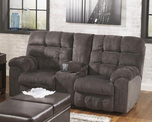 Acieona Reclining Loveseat with Console 5830094 By Ashley Furniture from sofafair