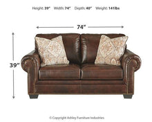 Load image into Gallery viewer, Roleson Loveseat 5870235