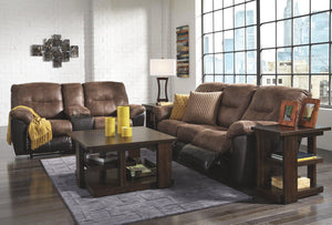 Follett Reclining Loveseat with Console 6520294