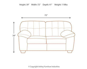 Accrington Loveseat 7050835