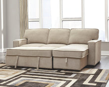Load image into Gallery viewer, Darton 2Piece Sleeper Sectional with Storage 73506S1