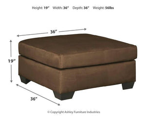 Darcy Oversized Accent Ottoman 7500408