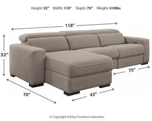 Load image into Gallery viewer, Mabton 3Piece Power Reclining Sectional 77005S2