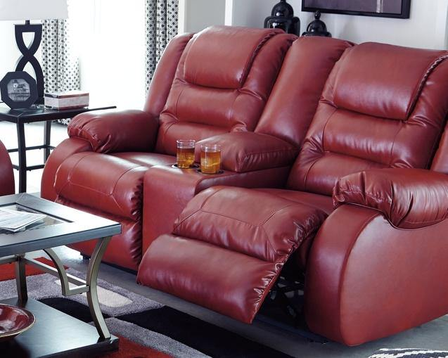 Vacherie Reclining Loveseat with Console 7930694 By Ashley Furniture from sofafair