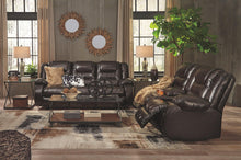 Load image into Gallery viewer, Vacherie Reclining Loveseat with Console 7930794
