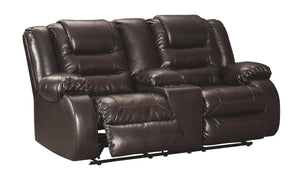 Vacherie Reclining Loveseat with Console 7930794