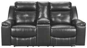 Kempten Reclining Loveseat with Console 8210594
