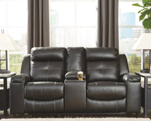 Load image into Gallery viewer, Kempten Reclining Loveseat with Console 8210594 By Ashley Furniture from sofafair