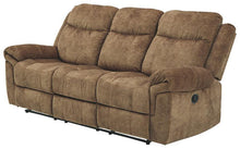 Load image into Gallery viewer, HuddleUp Reclining Sofa with Drop Down Table 8230489
