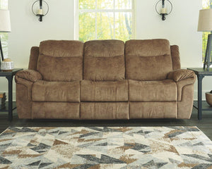 HuddleUp Reclining Sofa with Drop Down Table 8230489 By Ashley Furniture from sofafair
