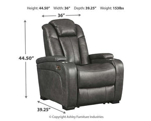 Turbulance Power Recliner 8500113