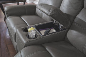 Jesolo Reclining Loveseat with Console 8670594