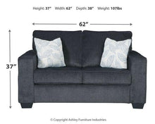 Load image into Gallery viewer, Altari Loveseat 8721335