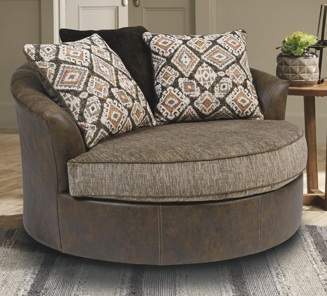 Abalone Oversized Chair 9130221 By Ashley Furniture from sofafair
