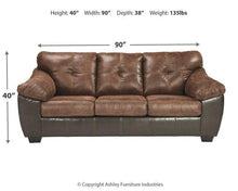 Load image into Gallery viewer, Gregale Sofa 9160338