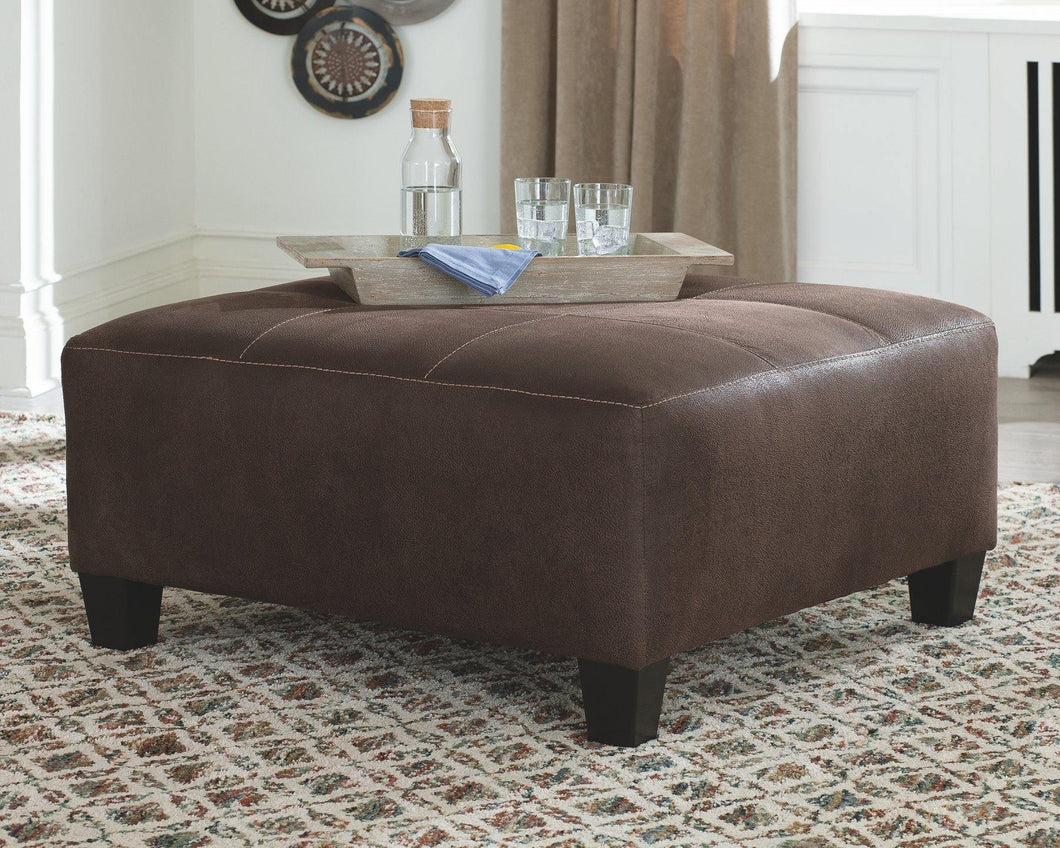 Navi Oversized Accent Ottoman 9400308 By Ashley Furniture from sofafair