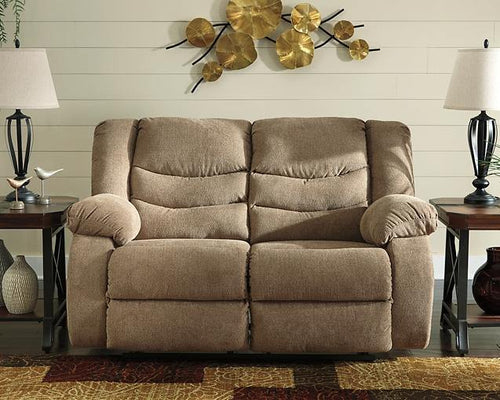 Tulen Reclining Loveseat 9860486 By Ashley Furniture from sofafair