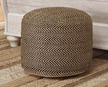 Load image into Gallery viewer, Chevron Pouf A1000438 By Ashley Furniture from sofafair
