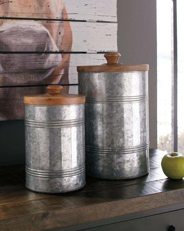 Divakar Jar Set of 2 A2000174 By Ashley Furniture from sofafair