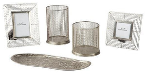 Dympna Accessory Set Set of 5 A2C00115 Candles and Candle Holders